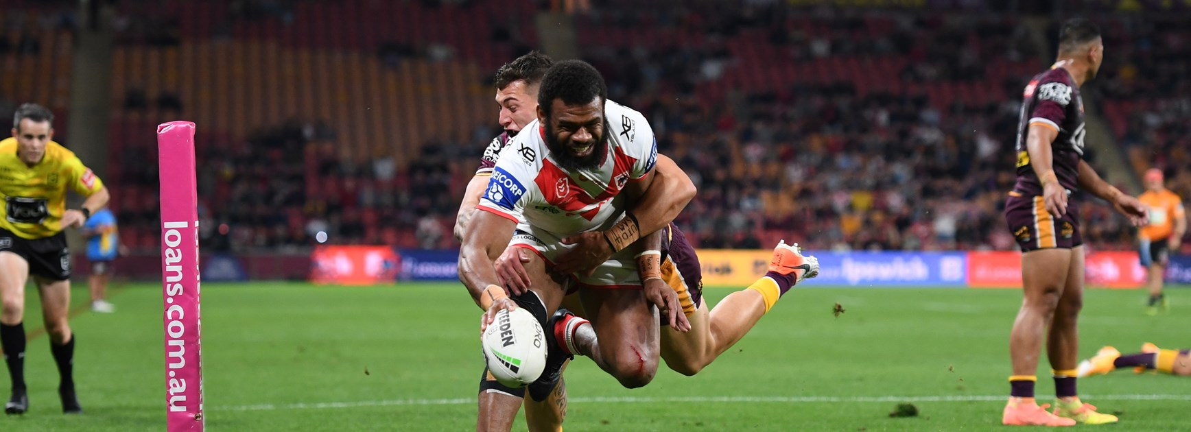 Dragons 'just scratching surface' with Ravalawa: Young