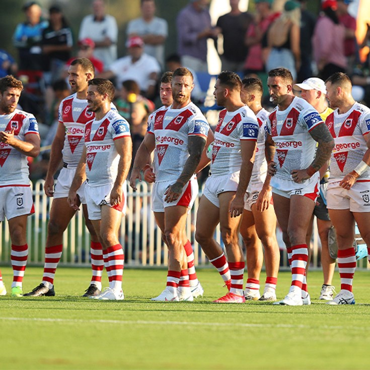Dragons no match for Rabbitohs in Charity Shield