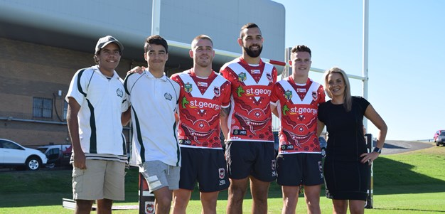 2018 Dragons indigenous jersey launched