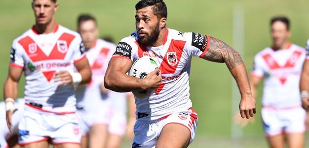 Jordan Pereira extends Dragons contract
