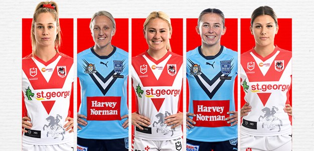 Dragons announce NRLW marquee signings