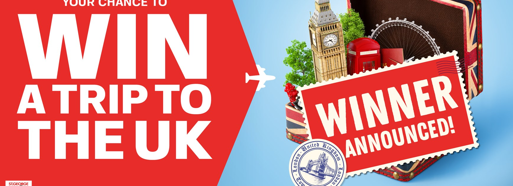Win a trip to the UK winner announced!
