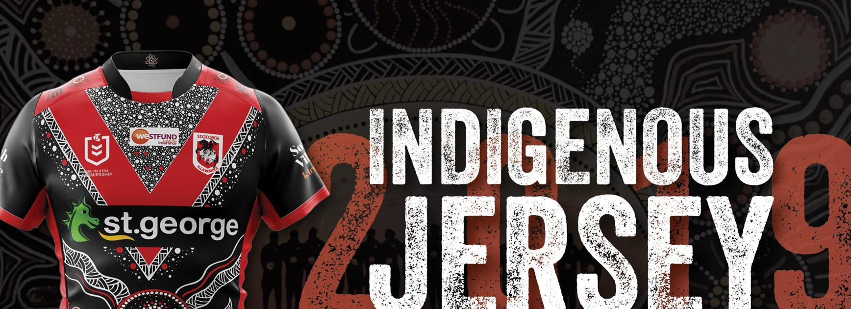 Dragons launch 2019 Indigenous jersey