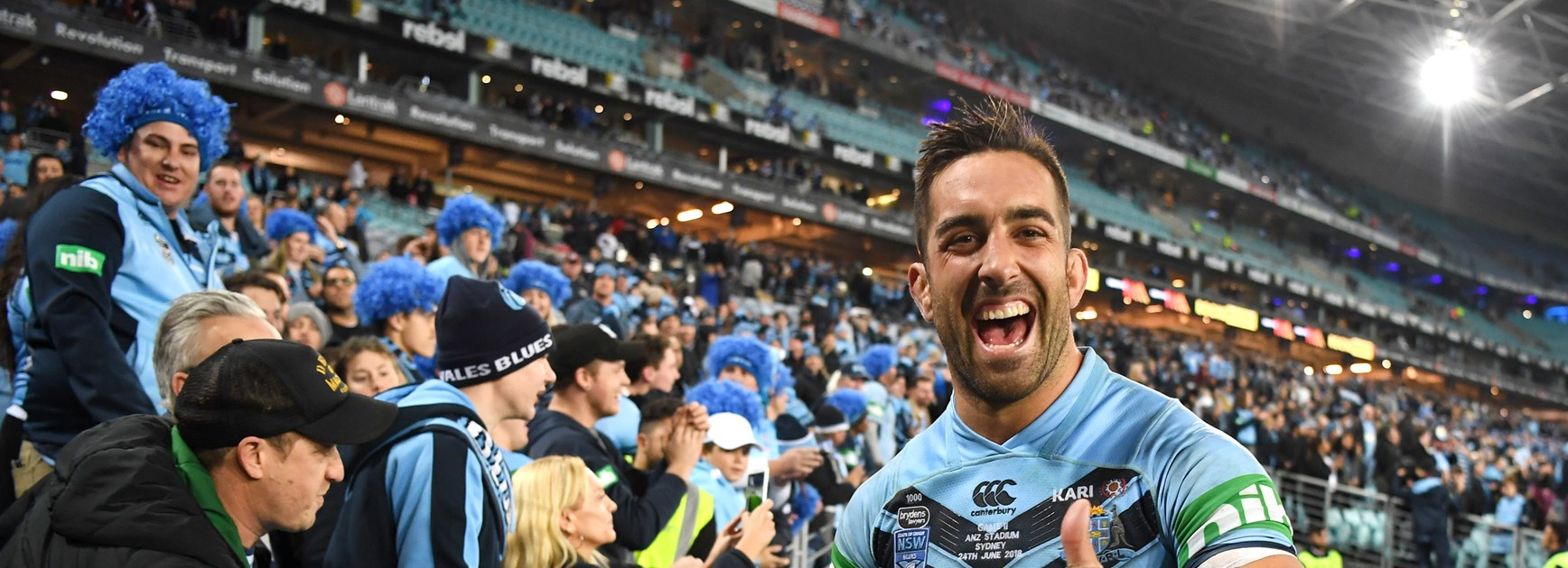 Blues claim Origin series with win over Maroons