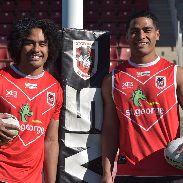 Feagai twins extend contracts, promoted to NRL squad