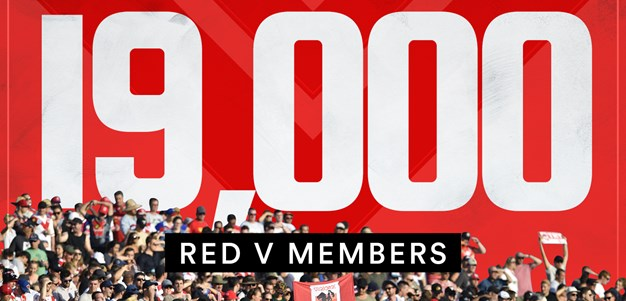 Dragons reach 19,000 Red V members