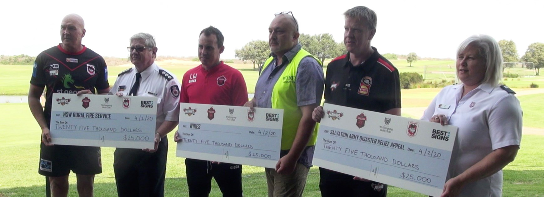 Illawarra Codes Combined golf day raises $75k