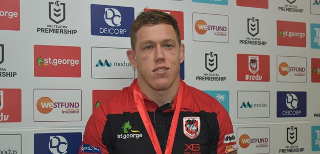 McInnes wins second consecutive Dragons Medal