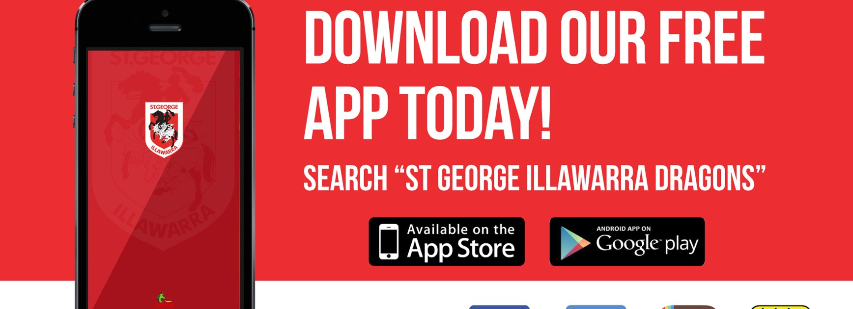 Dragons app and live game coverage update