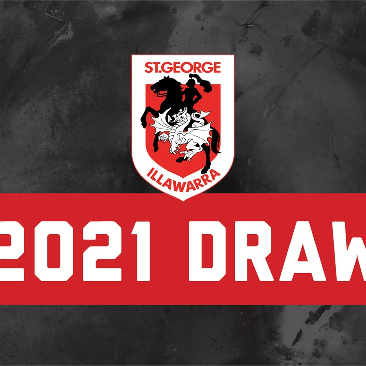 Dragons' 2021 NRL draw announced