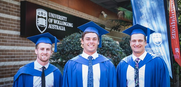 ISP Dragons trio graduate from UOW