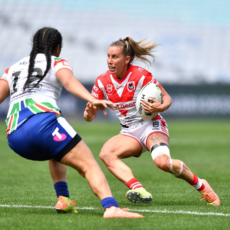 Injury-hit Dragons fall to Warriors to end NRLW campaign