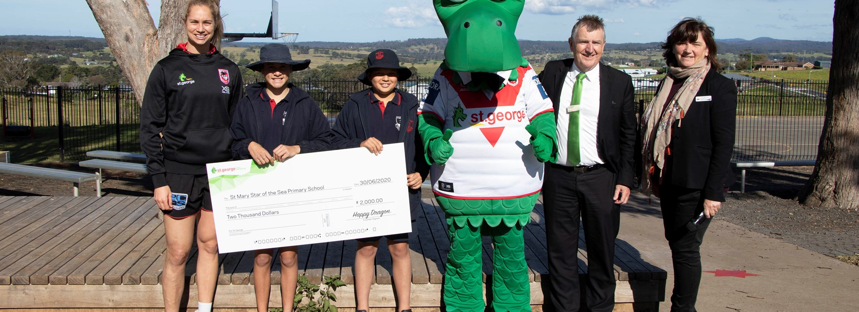 Dragons return to South Coast for special presentation