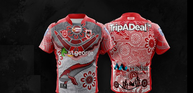 Dragons launch 2020 Indigenous jersey