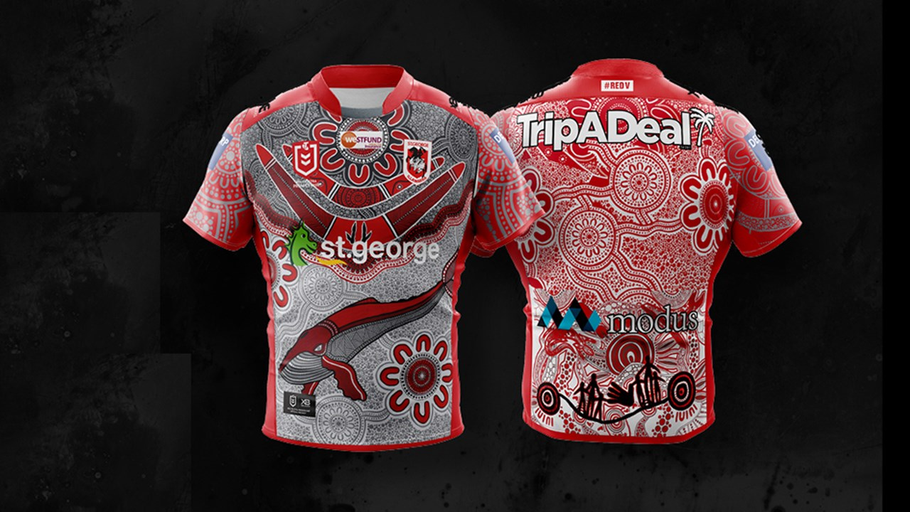 Dragons Launch 2020 Indigenous Jersey Dragons