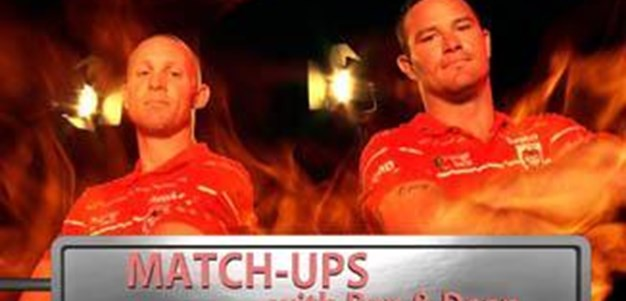 Match Ups Dragons V Rabbitohs