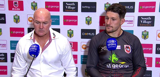 Dragons Press Conference: Round 8