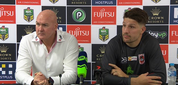 Dragons Press Conference: Round 10