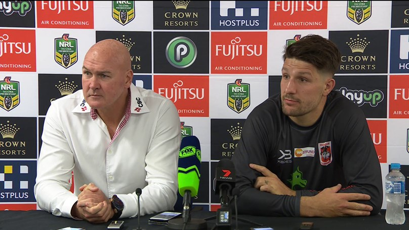 Dragons press conference - Round 10, 2018