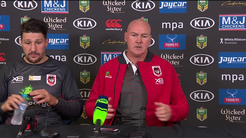 Dragons press conference - Round 14