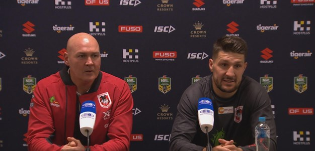Dragons press conference: Round 17