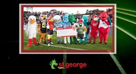 St.George Bank Half-Time Mascot Race Event