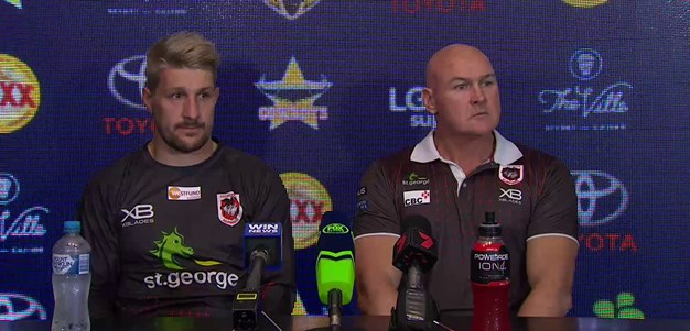 Dragons press conference: Round 19