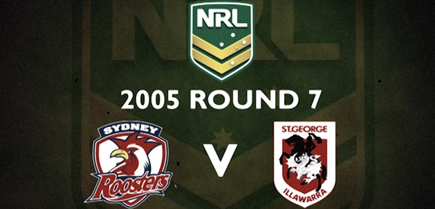 Footy Flashback: 2005 Round 7 Roosters v Dragons