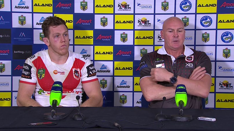 Dragons press conference: Round 22