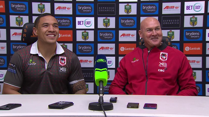 Dragons press conference: Round 23