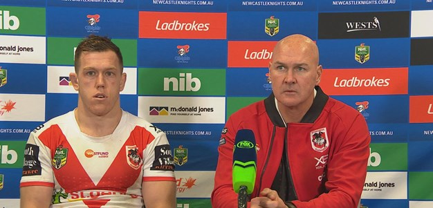 Dragons press conference - Round 25