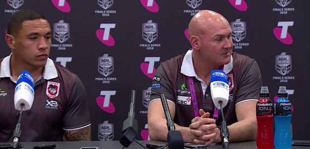 Dragons press conference: Elimination final