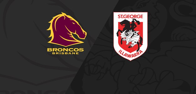 Extended match highlights: Finals Week One v Broncos