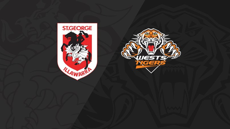 Full Match Replay: Dragons v Wests Tigers - Round 18, 2018
