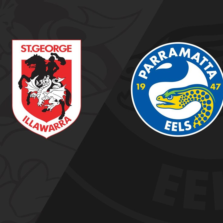 Full match replay: Dragons v Eels (Round 16, 2018)