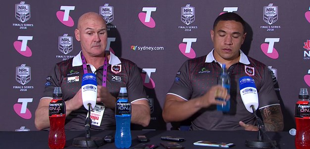 Dragons press conference: Semi-final v Rabbitohs