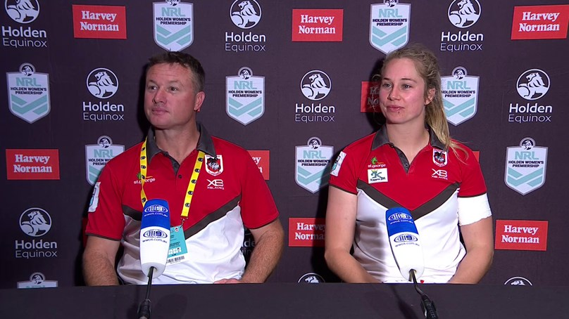 Dragons press conference: NRLW Round 3, 2018