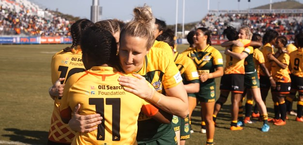 Match Highlights: Women's Prime Minister's XIII - Orchids v Jillaroos, 2018