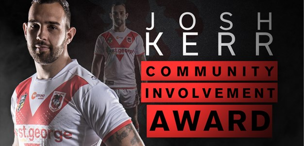 Josh Kerr Community Involvement Award winner