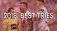 Best tries of 2018