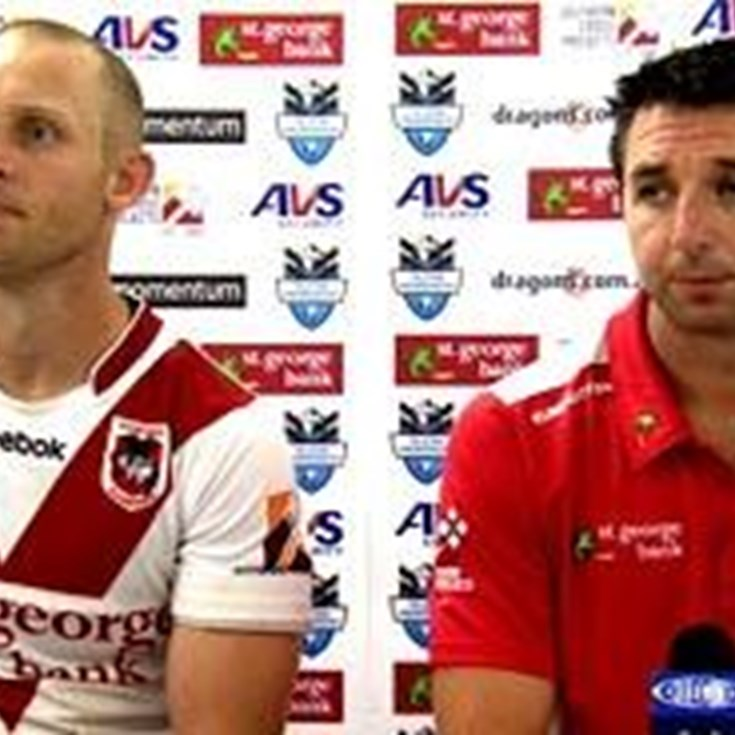 Dragons Press Conference - Round 3