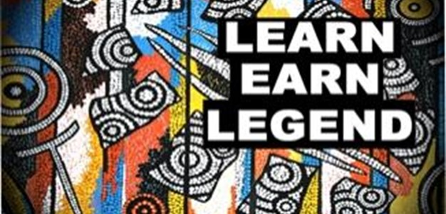 Wendell Sailor teaches Learn Earn Legend in Dubbo