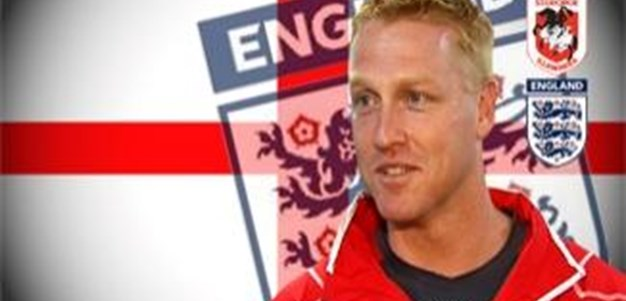 Dragons Perfromance Director Jeremy Hickmans helps England RFL