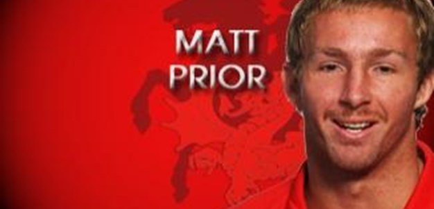 Matt Prior talks to Dragons TV
