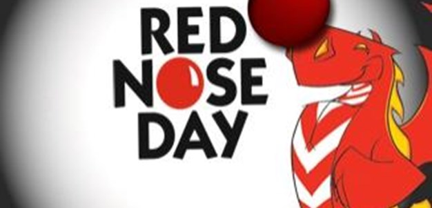 Dragons Support Red Nose Day