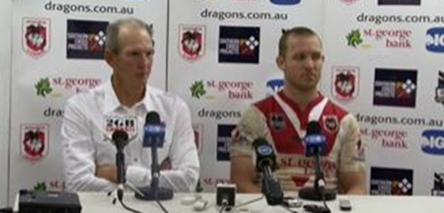 Dragons Press Conference - Titans