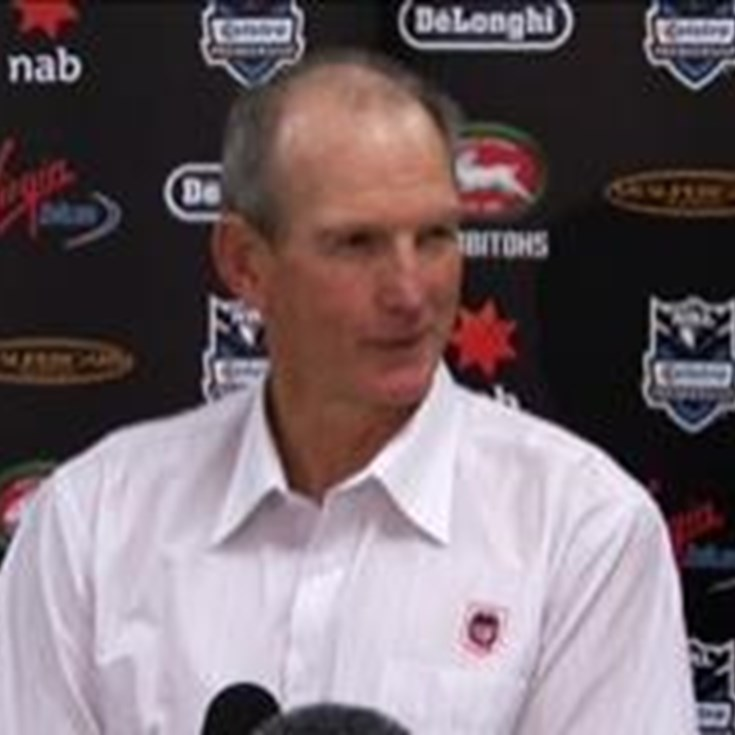 Press Conference - Dragons v Rabbitohs