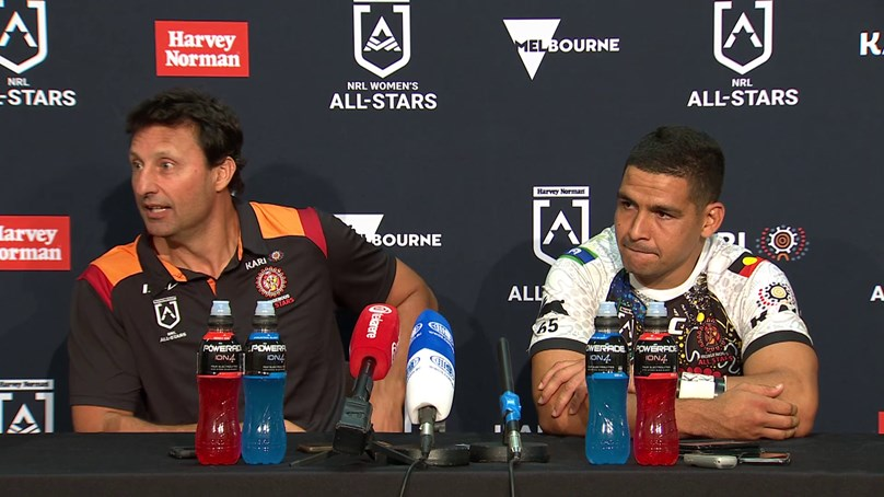 Press Conference: Indigenous All Stars