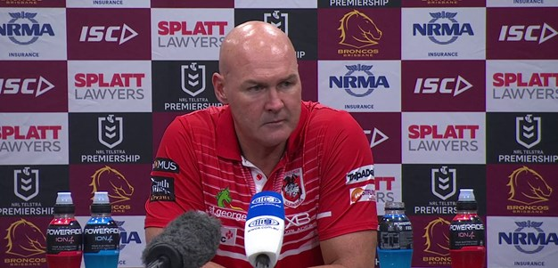 Dragons press conference: Round 3