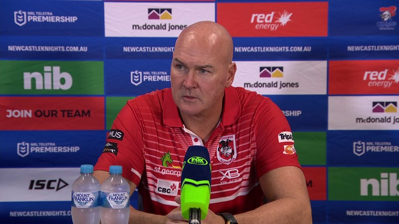 Dragons press conference: Round 4